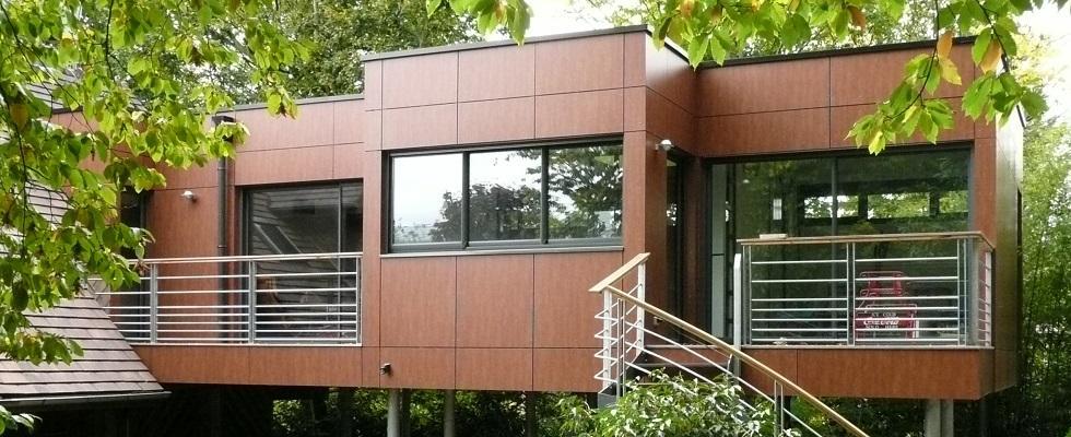 Bienvenue chez maisons wedgwood for Extension maison bois sur pilotis
